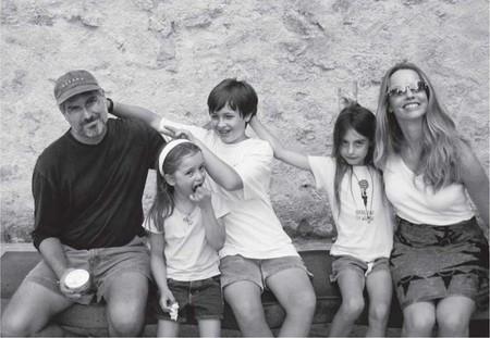 Steve Jobs y familia