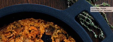 Arroz al horno con costillas, setas y castañas: receta para enamorarse del otoño