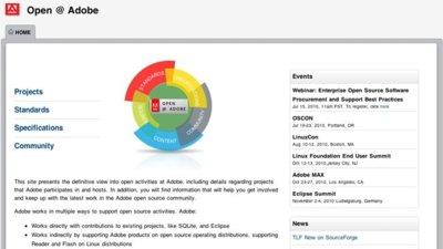 Adobe y Sourceforge forman una alianza para crear proyectos de código libre