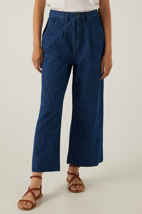 Jeans culotte ligeros