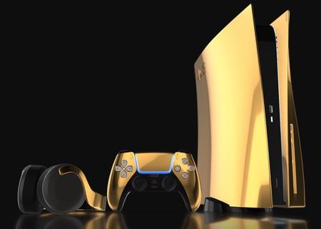 La PS5 bañada en oro de 24 kilates ya tiene precio: casi 9.000 euros para un producto de lujo muy limitado