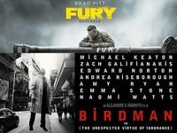 Estrenos de cine | 9 de enero | Michael Keaton vuelve a volar y Brad Pitt a matar nazis