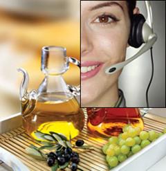 Consejos sobre la Dieta Mediterránea a través del teléfono, iniciativa andaluza de interés