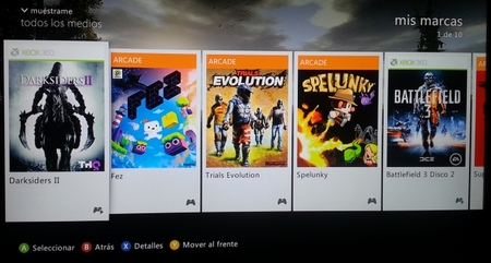 Las Marcas de Xbox Live