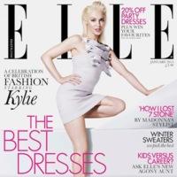 A Kyle Minogue le cortan la pierna en la portada de Elle y nadie se da cuenta