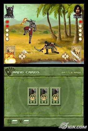 Imágenes de Battles of Prince of Persia para Nintendo DS