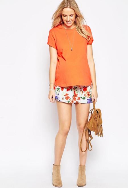 Shorts Premama Flores