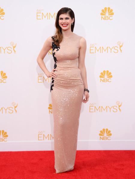 Su primera gran alfombra en los Emmy