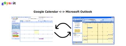 gSyncit, sincroniza Google Calendar y MS Outlook
