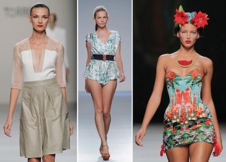 Un domingo marcado por el color en la Mercedes-Benz Fashion Week Madrid