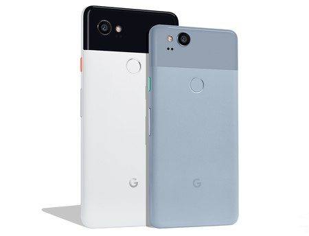 Pixel 2 Xl Black White And Pixel 2 Kinda Blue