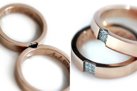 Matching Wedding Rings Cadijewelry 5