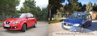 Comparativa: SEAT Altea XL 1.8 TFSI contra Volkswagen Touran 1.4 TSI (parte 1)