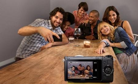 Sony NEX 6 foto en grupo