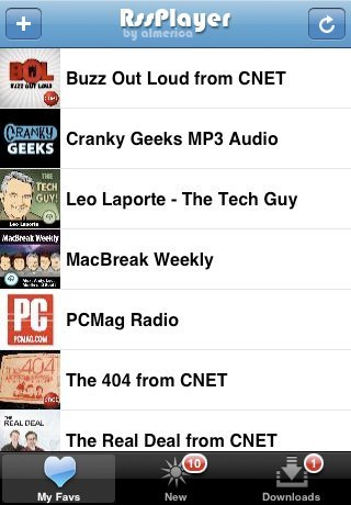 RSS Player, descarga podcasts en el iPhone