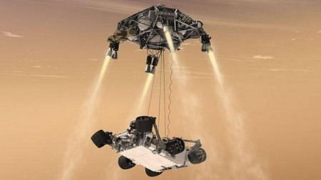 La Nasa retransmitirá el descenso del rover Curiosity en streaming