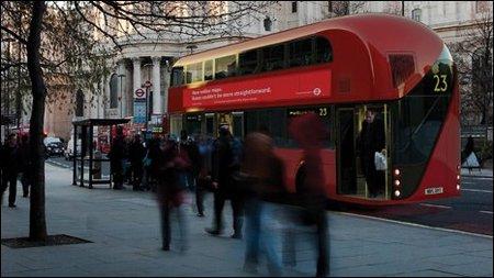 Diseño definitivo para los autobuses de Londres