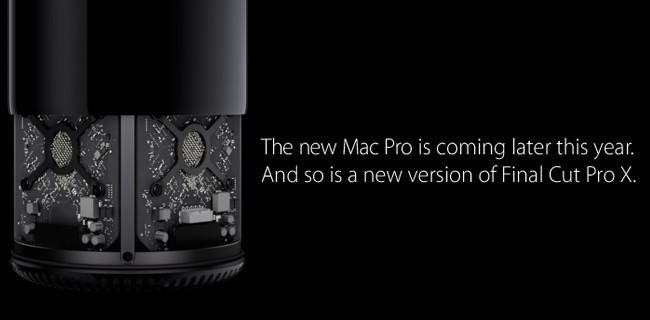 La nueva versión de Final Cut Pro X llegará junto al Mac Pro
