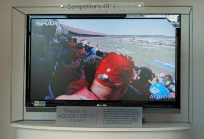 Televisores Sharp AQUOS aun más delgados