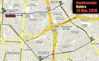 Manifestación motera el 13 de noviembre en Madrid
