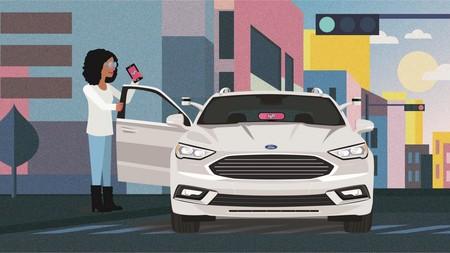 Ford quiere que sus coches se integren en el servicio de Lyft, pero aún no se plantea que no haya conductor