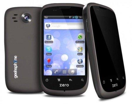 GeeksPhone Zero, el terminal español apuesta por Gingerbread