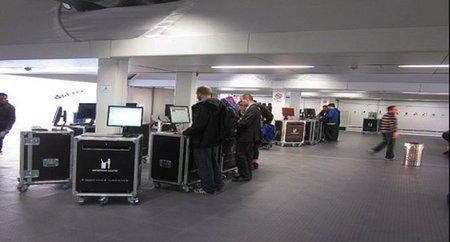 La primera terminal de aeropuerto móvil del mundo