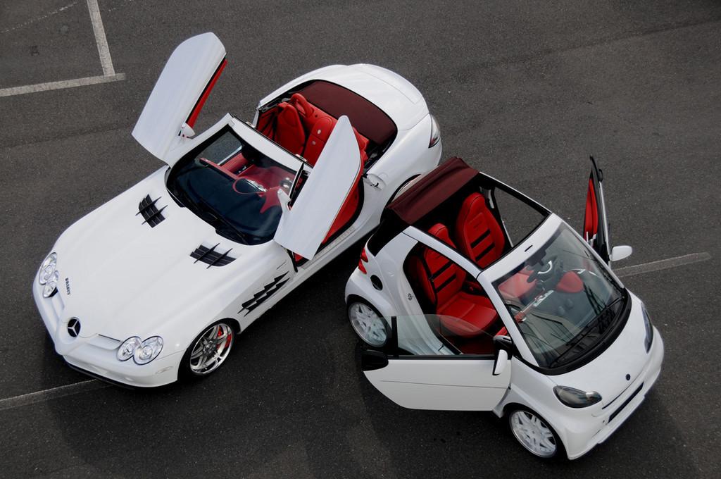 Foto de Brabus SLR McLaren y Brabus Smart Ultimate 112 (2/40)