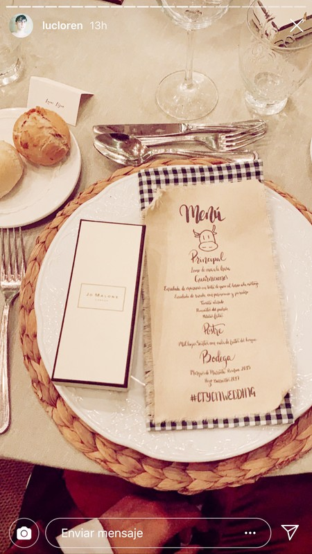 boda maria pombo detalles