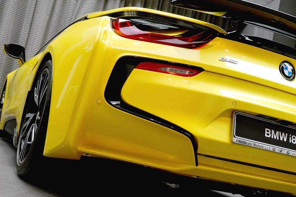 Foto de BMW i8 amarillo (1/16)
