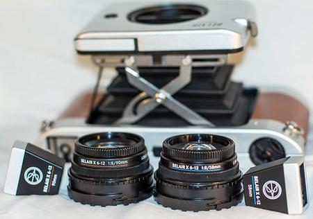 Belair X 6-12 con sus objetivos (58 y 90mm) y sus visores