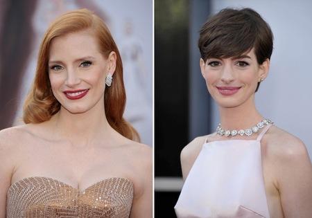 Los labios de las celebrities en la Gala de los Oscar 2013, ¿con qué color te quedas?