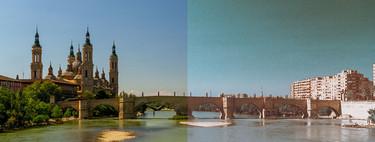 Cómo conseguir un estilo de película forzada a dos tiras en Photoshop