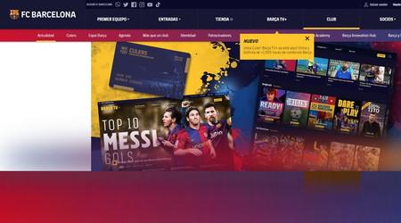 El FC Barcelona lanza 'Barça TV+', su propia plataforma de streaming con partidos en diferido y documentales originales