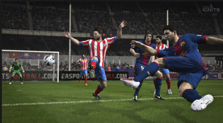 Pantallazo del videojuego Fifa