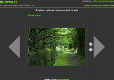 Photoree, recomendación de imágenes en función de nuestros gustos personales