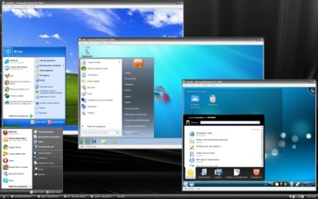 Virtual PC con varios sistemas a la vez