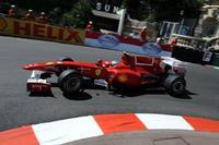 Fernando Alonso ,el mejor en las calles de Montecarlo