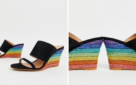Sandalias Arcoiris Multicolor