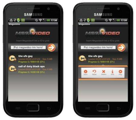 Megavideo (beta) disponible para Android