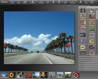 FlauntR, edición y efectos digitales sobre nuestras imágenes
