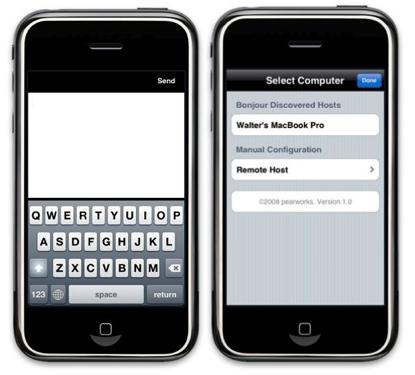 PearPad, convierte tu iPhone en un trackpad remoto para tu mac