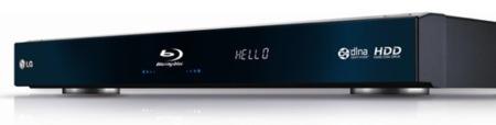 LG BD590 añade un disco duro al reproductor Blu-ray