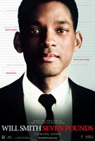 'Seven Pounds' con Will Smith, póster