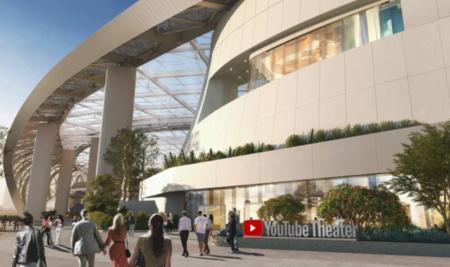 Se confirma YouTube Theatre: el espacio para eventos en vivo tendrá 6,000 asientos, tres pisos y estará ubicado en California