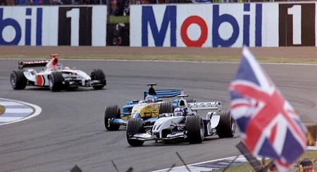 Montoya Silverstone F1 2003