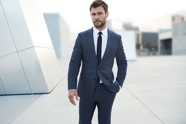 El actor Chris Hemsworth, nueva imagen de Boss Bottled