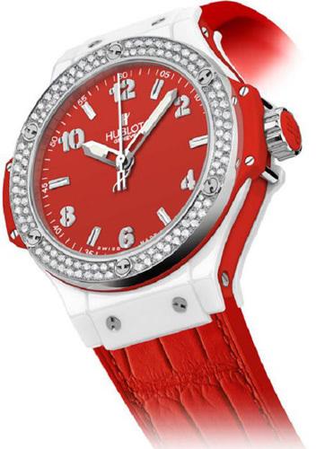 Para Hublot, San Valentín es Big Bang Red. Reloj de lujo