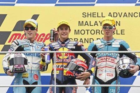 Podio Malasia 2010