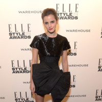 Emma Watson Giambattista Valli Primavera/Verano 2014 Alta Costura Elle Style Awards 2014 red carpet